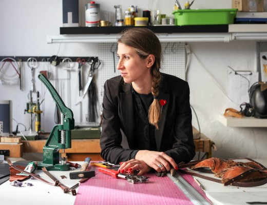 Victoria Filina, Designer and Owner of Tineola, Kreuzberg // Interview with berlinograd.com
