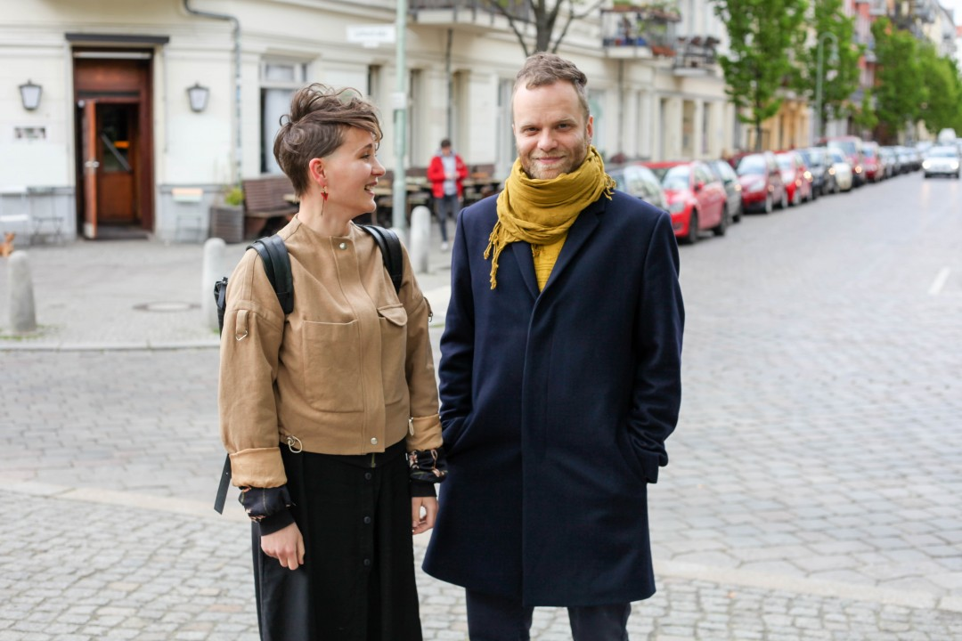 Diana Vishnevskaya & Igor Zwetkow at Galerie Kuchling, a berlinograd.com recommendation