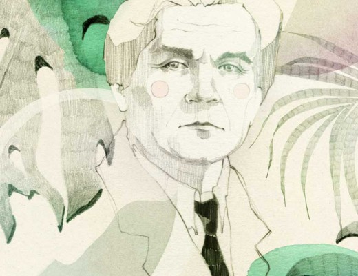 Berlinograd 1920s: An interview with Kazimir Malevich with Ani Menua; Illustration by Ekaterina Koroleva exclusive for berlinograd.com