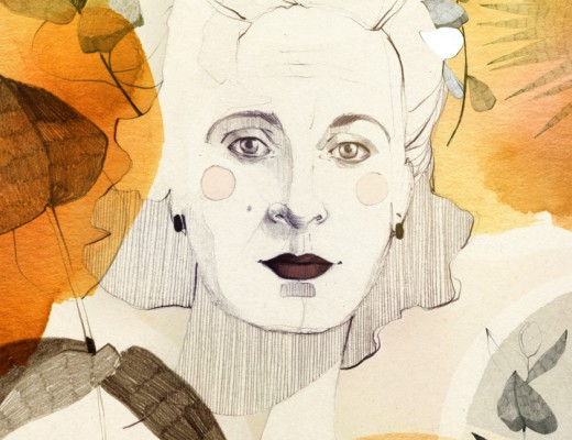 Berlinograd 1920s: An interview with Gala Dali with Ani Menua; Illustration by Ekaterina Koroleva exclusive for berlinograd.com