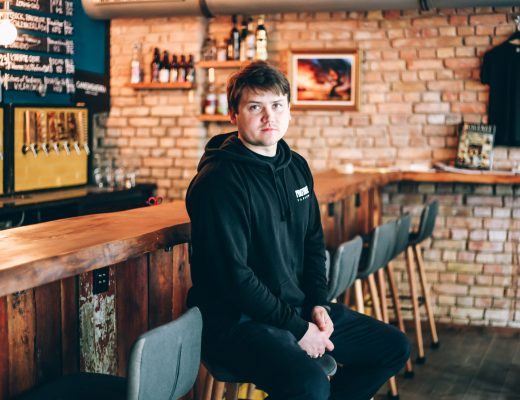 Vadim Kamkalov, CEO of Protokoll Taproom, Friedrichshain